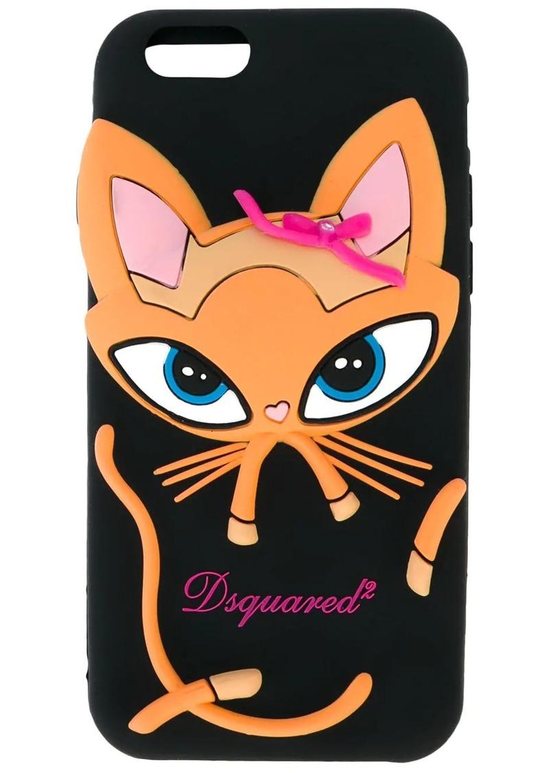 Dsquared2 cat iPhone 6/6S case