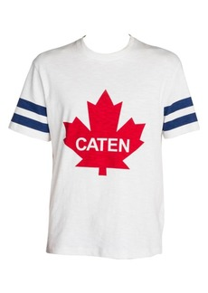Dsquared2 Caten Maple Leaf T-Shirt
