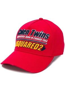 Dsquared2 Caten Twins logo baseball cap