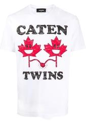 Dsquared2 Caten Twins print T-shirt