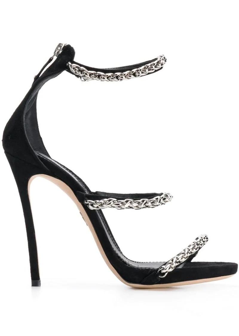 24cb0833028 Dsquared2 chain strappy sandals