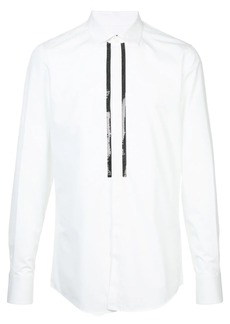 Dsquared2 chain-trimmed shirt