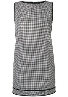 Dsquared2 check pattern shift dress