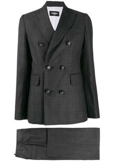 Dsquared2 checked two-piece suit