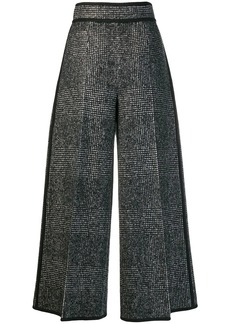 Dsquared2 checked wide-leg trousers