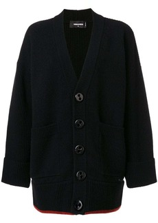 Dsquared2 chunky buttoned cardigan