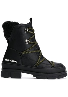 Dsquared2 chunky hiking style boots