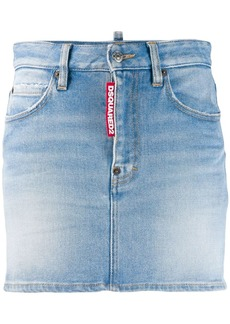 Dsquared2 classic denim mini skirt