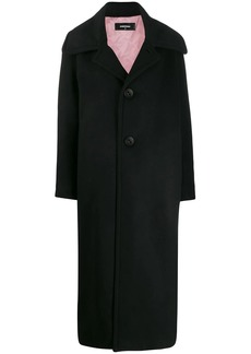 Dsquared2 classic single-breasted coat