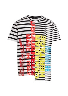 Dsquared2 Classified Striped Logo Tee
