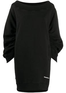 Dsquared2 cocoon-sleeved sweatshirt dress