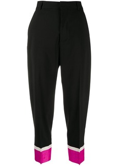 Dsquared2 colour block tapered trousers