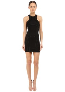 Dsquared2 Compact Viscose Jersey Dress