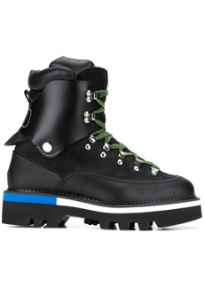 Dsquared2 contrast details hiking boots