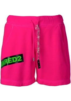 Dsquared2 contrast logo shorts