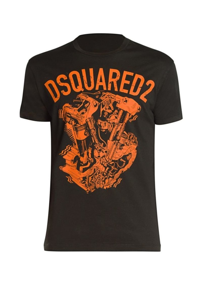Dsquared2 Cool Fit Logo Graphic T-Shirt