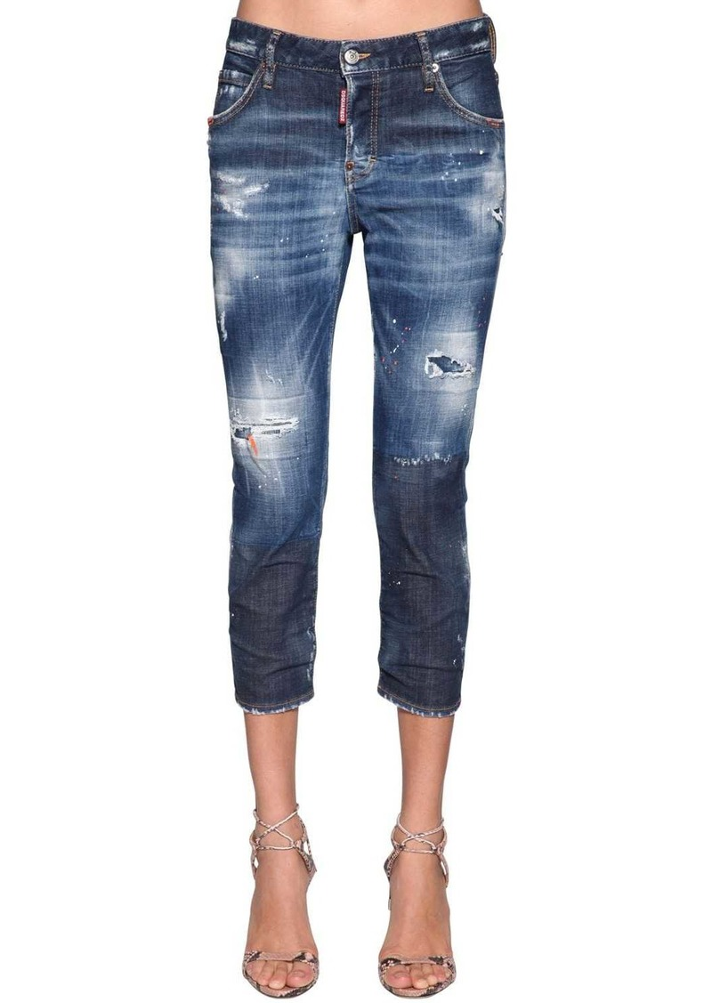 Dsquared2 Cool Girl Denim Cropped Jeans