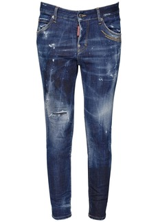 Dsquared2 Cool Girl Galaxy Dark Wash Denim Jeans