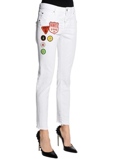 Dsquared2 Cool Girl Scout Patches Denim Jeans