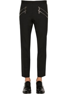 Dsquared2 Cool Guy Double Zip Stretch Wool Pants