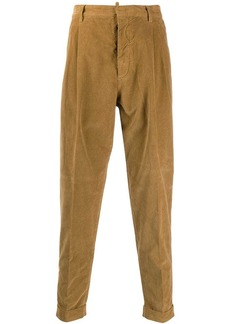 Dsquared2 corduroy tapered trousers