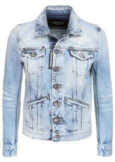 Dsquared2 Cotton Denim Jacket