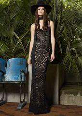 Dsquared2 Cotton Macramé Knit Dress