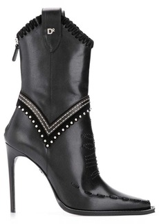 Dsquared2 cowgirl ankle boots