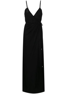 Dsquared2 crepe jersey wrap dress