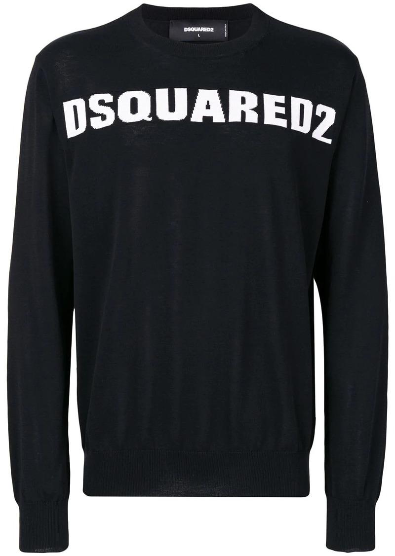 Dsquared2 crew neck logo sweater