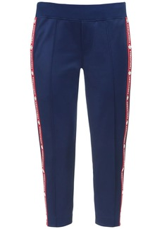 Dsquared2 Crop Cotton Blend Sweatpants