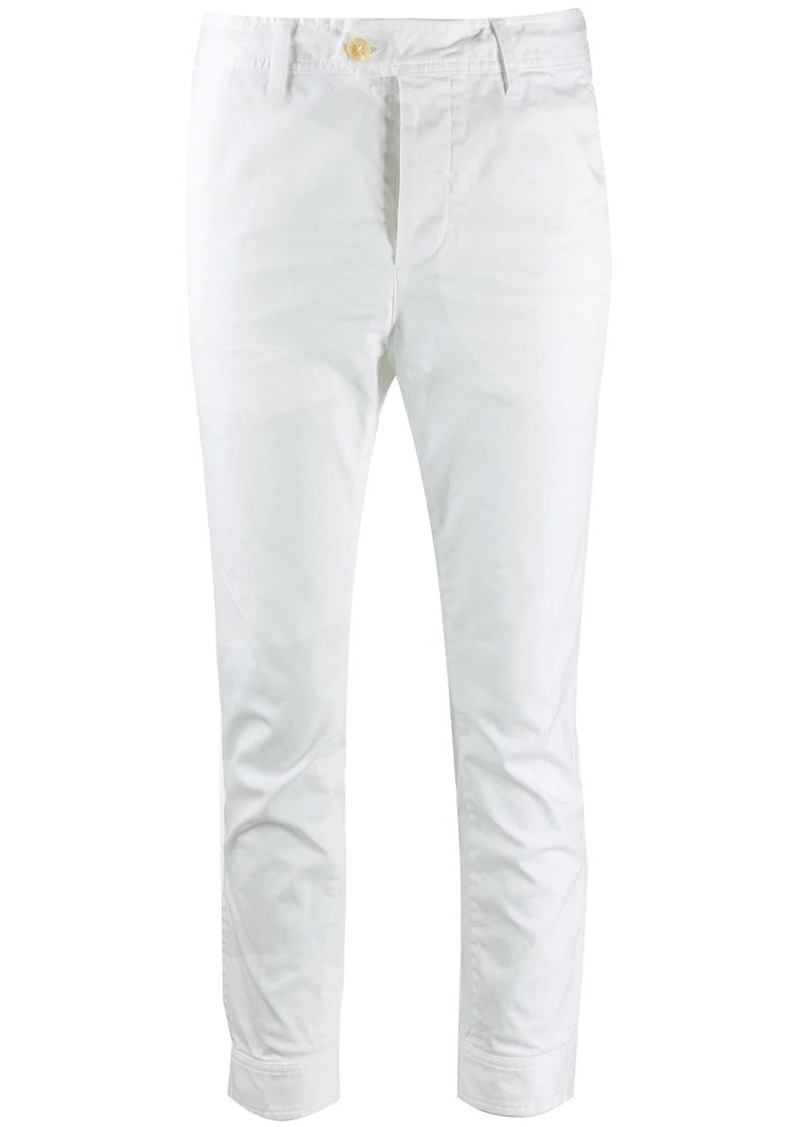 Dsquared2 cropped button jeans