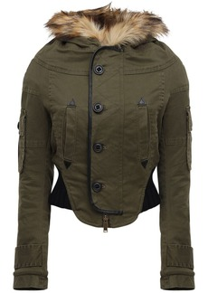 Dsquared2 Cropped Canvas Parka