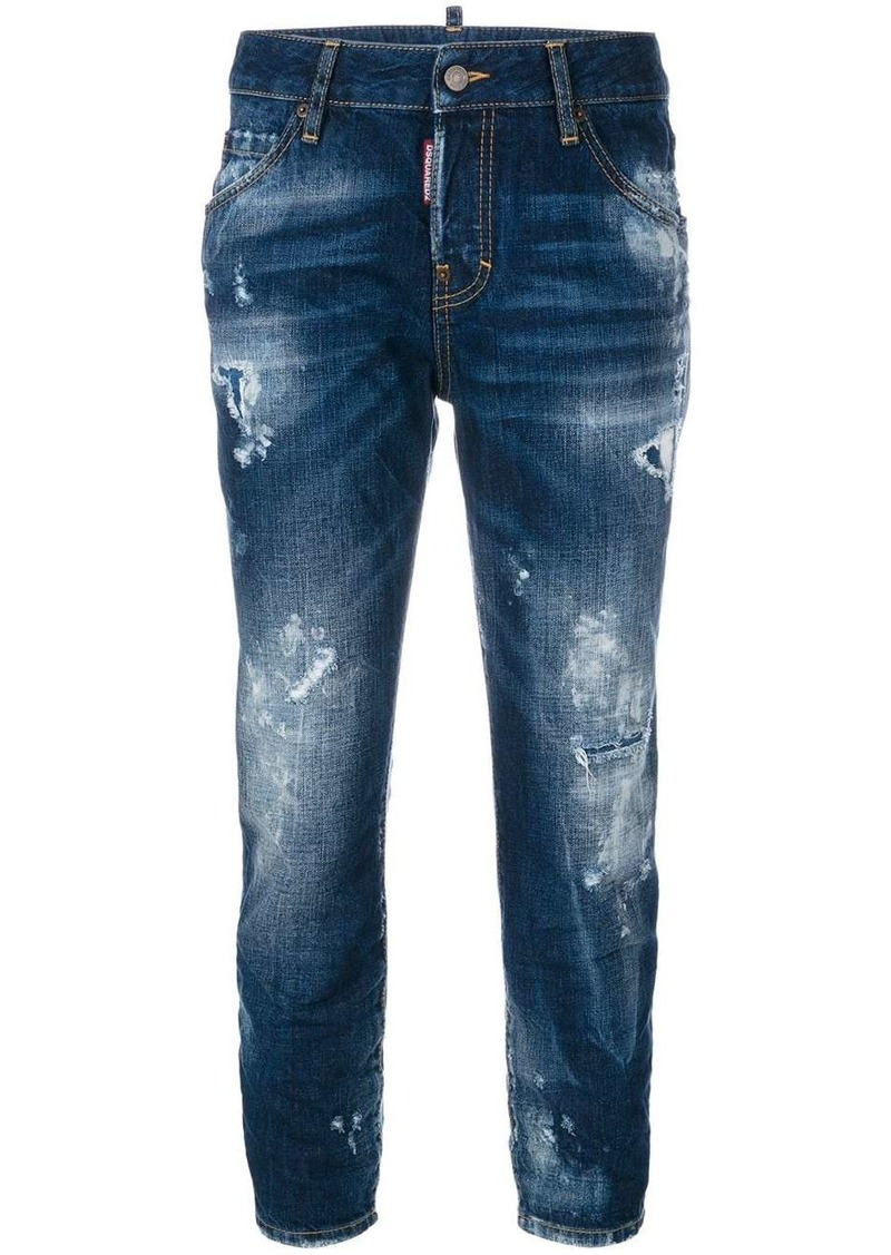 Dsquared2 cropped Cool Girl jeans
