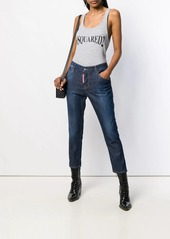 Dsquared2 cropped girlfriend fit jeans