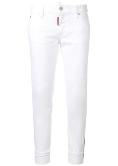 Dsquared2 cropped skinny jeans