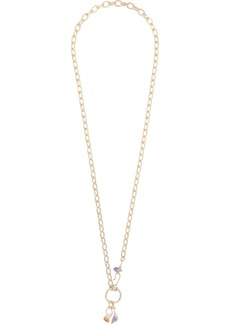 Dsquared2 crystal-embellished chain necklace