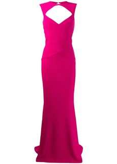Dsquared2 cut-out detail gown