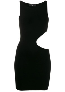 Dsquared2 cut-out short fitted dress