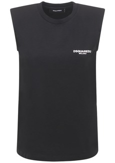 Dsquared2 D2 Milano Cotton Jersey Tank T-shirt