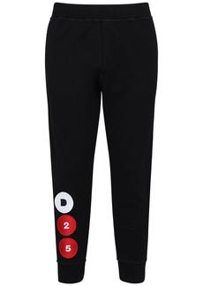 Dsquared2 D25 Patch Cotton Jersey Sweatpants