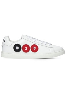 Dsquared2 D25 Patch Leather Low-top Sneakers