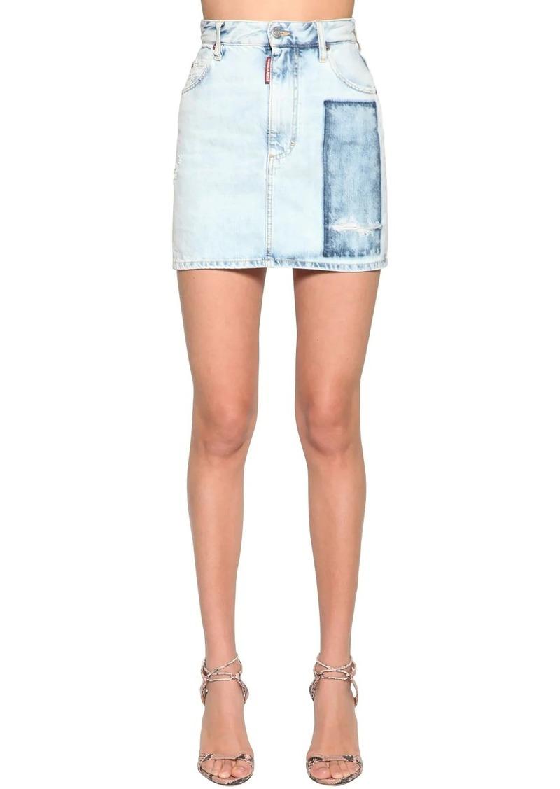 Dsquared2 Dalma Denim Mini Skirt