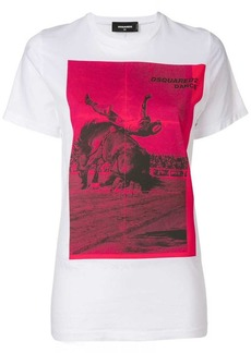 Dsquared2 Dance print T-shirt