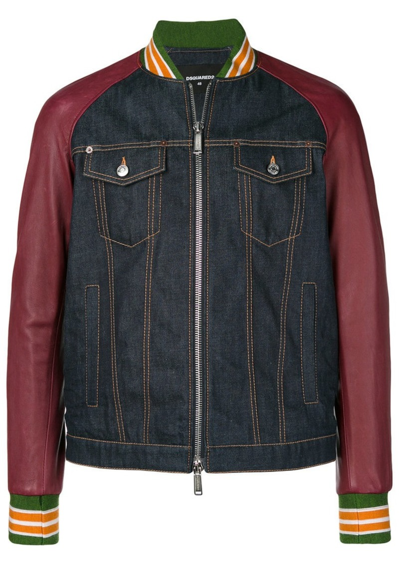 3095672b3 denim bomber jacket