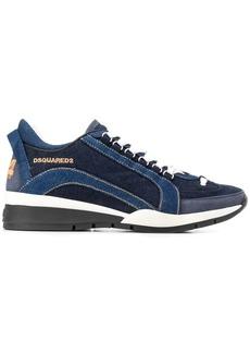 Dsquared2 denim-effect low-top sneakers