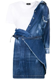 Dsquared2 denim T-shirt dress