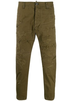 Dsquared2 distressed cargo trousers