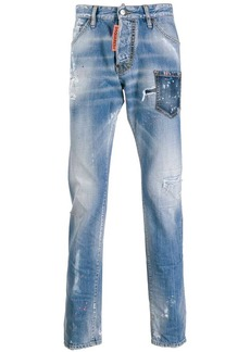 Dsquared2 distressed Rave On jeans