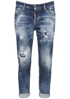 Dsquared2 Cool Girl Distressed Cotton Denim Jeans